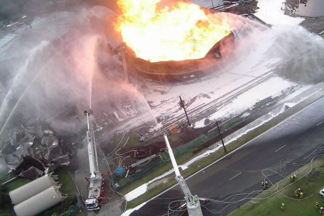 Ethanol Tank Firefighting