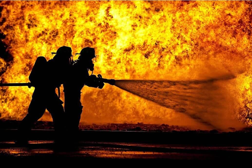 Flashover Fire