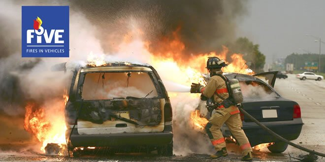 FIVE Fire in Vehicles Featured Image