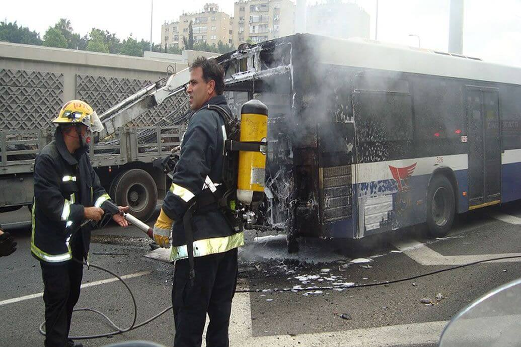 Safer Buses with Fire Extinguishing Systems
