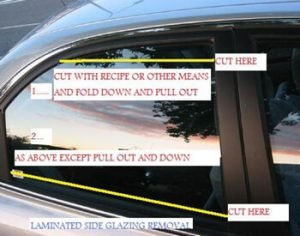 Vehicle Glass Rescue Management