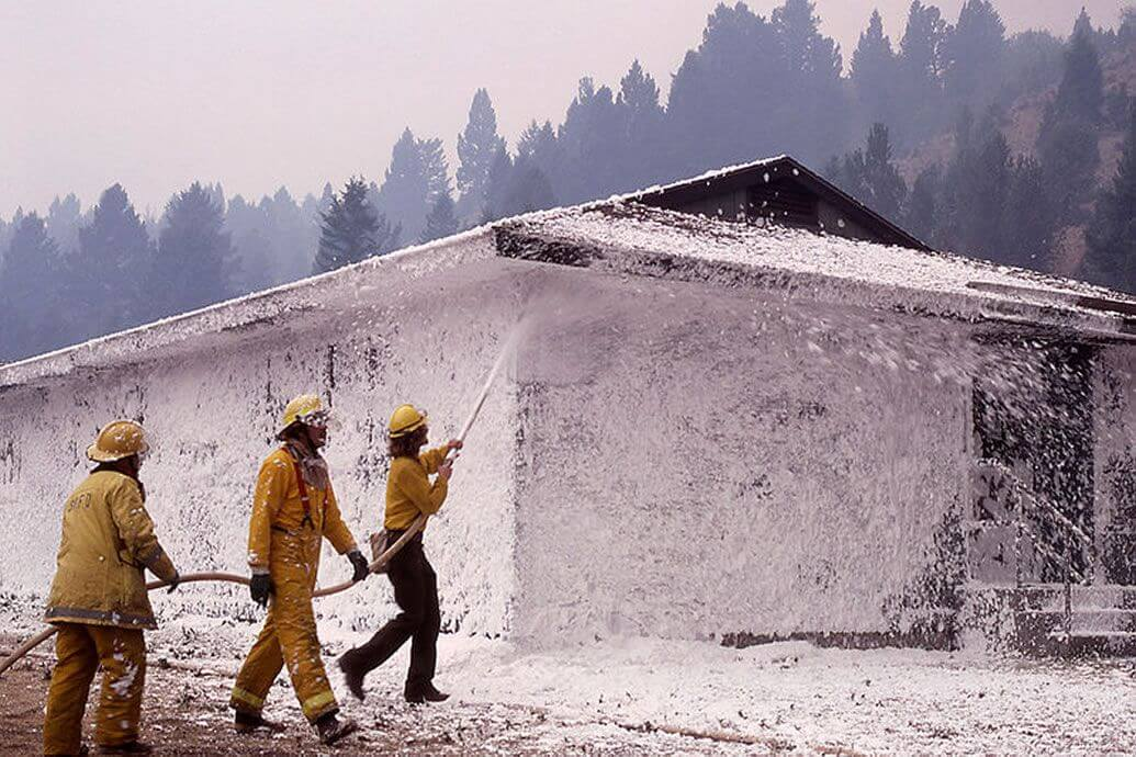 Firefighting with Compressed Air Foam Systems