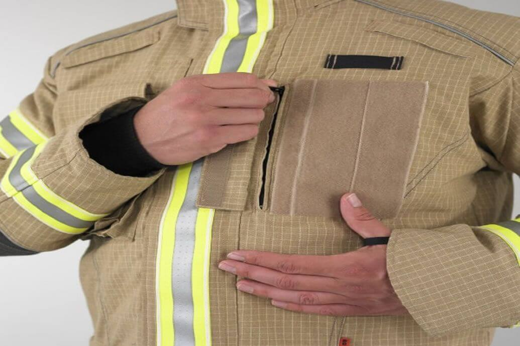 Arresting new design for PPE Integrated Safety Harness