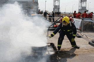Firefighting with watermist