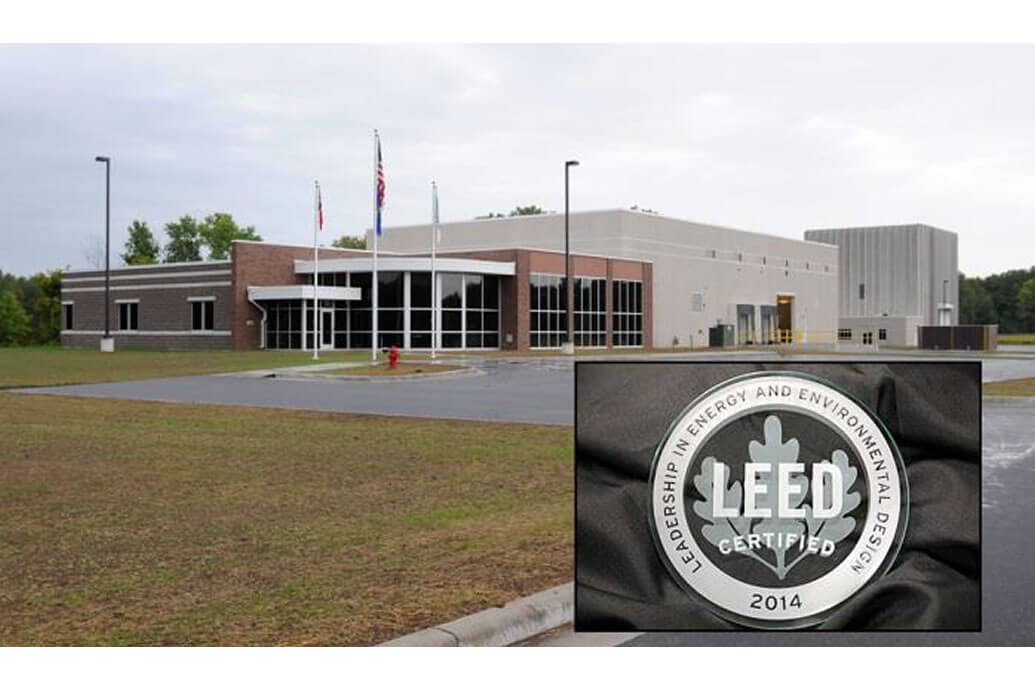 Solberg receives LEED Certification