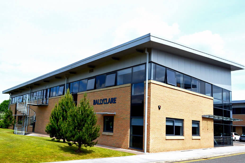 Ballyclare Moves to New Head Office