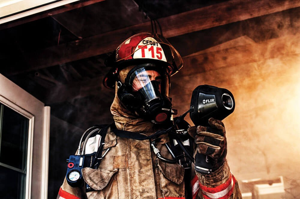 FLIR thermal imaging cameras deliver first-class firefighting services HP