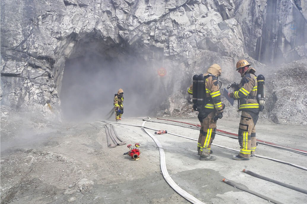 Tactics and methodology for fires in underground environments HP