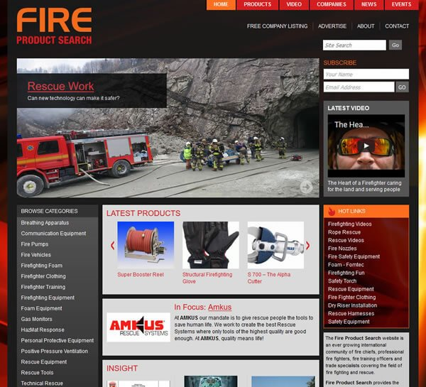 2nd-generation-fire-product-search-website