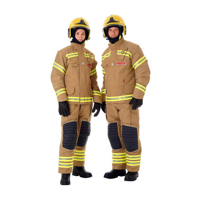 British firefighter uniform