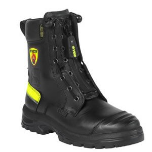 Hades 8 inch Front Zip Fire Boot