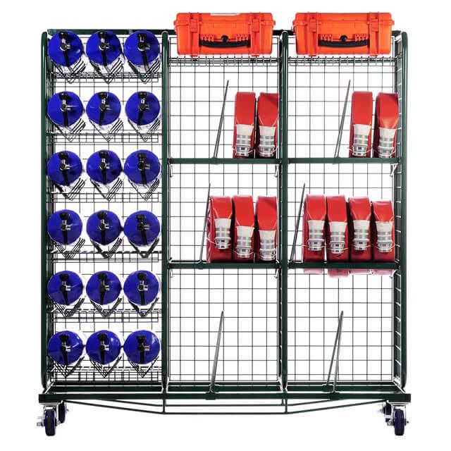 Heavy-Duty Hose & Cylinder System