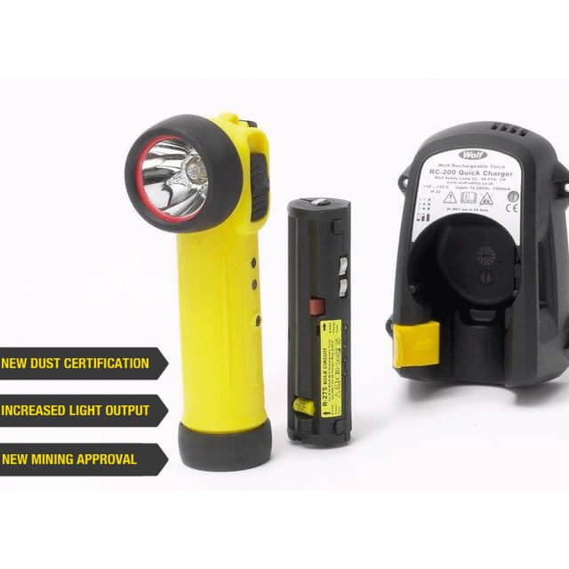 Wolf Rechargeable Torch