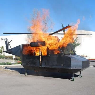 Bell 412 Helicopter Fire Trainer