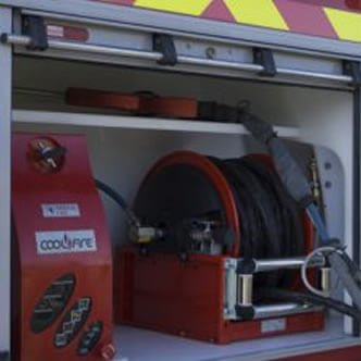coolfire hose reel