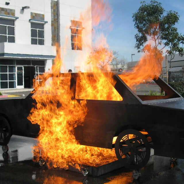 Falcon EX Car Fire Trainer