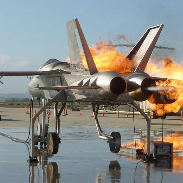 Fast Attack Jet Fire Trainer