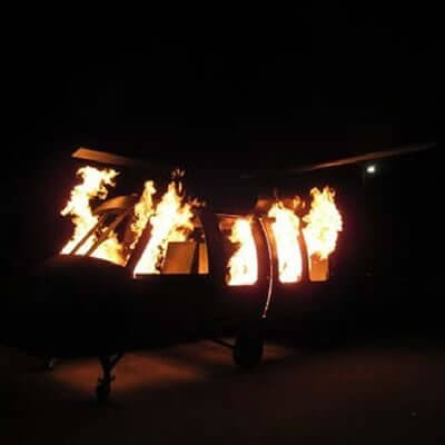 UH-60 Helicopter Fire Trainer