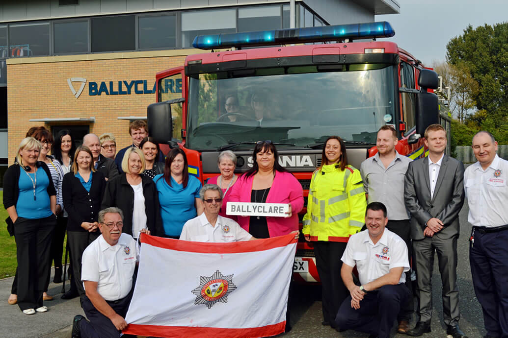 Fire Engine will carry the Ballyclare name to Argentina