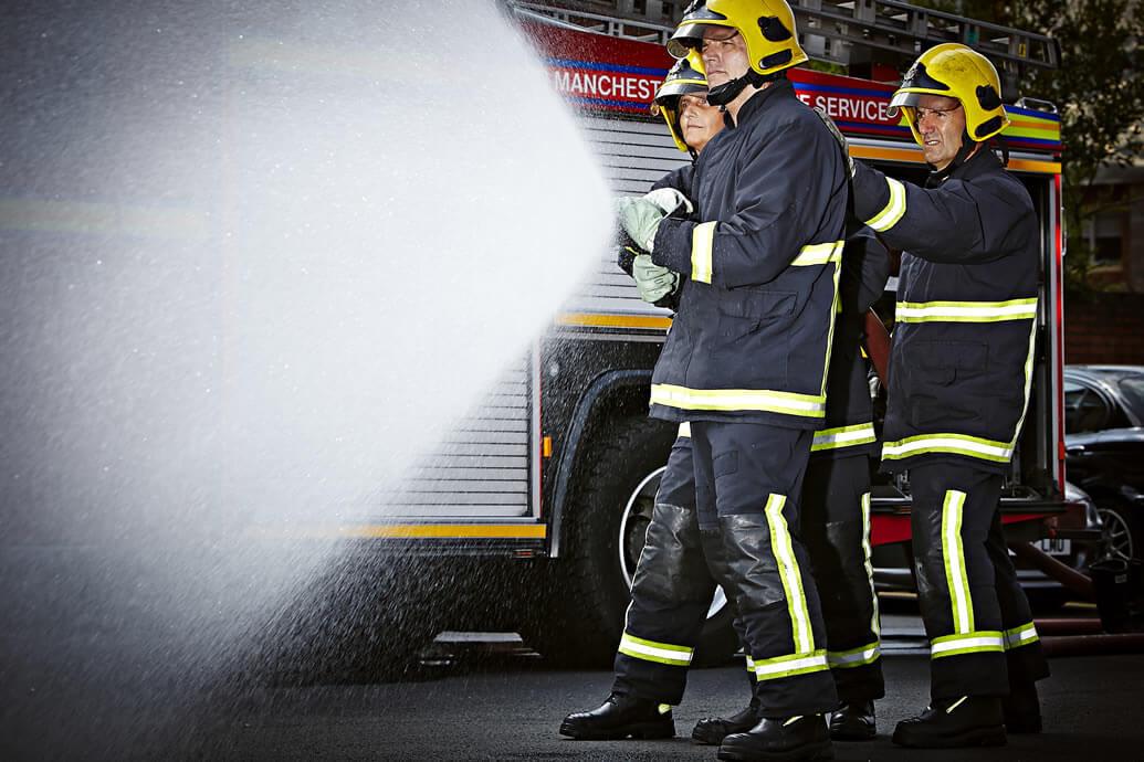 China's Guizhou Fire Department Choose Goliath Gore-Tex® Fire Boots