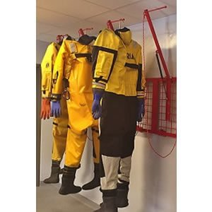 Easy Hang Dry Suit Storage