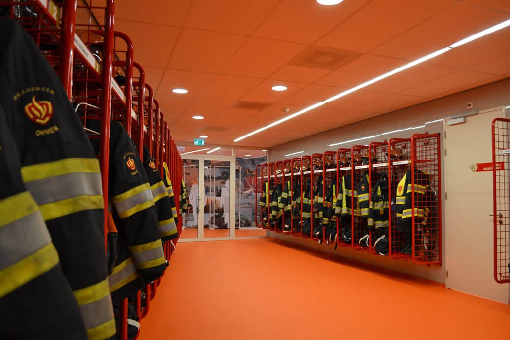 Fire Station PPE Storage