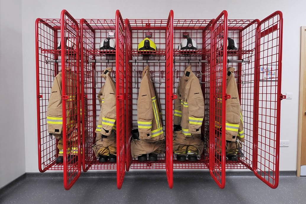 Geargrid Provides Solution For Airport Fire Station Ppe