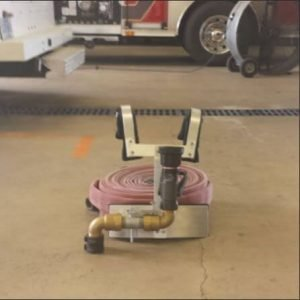 A new and innovative fire hose carrier