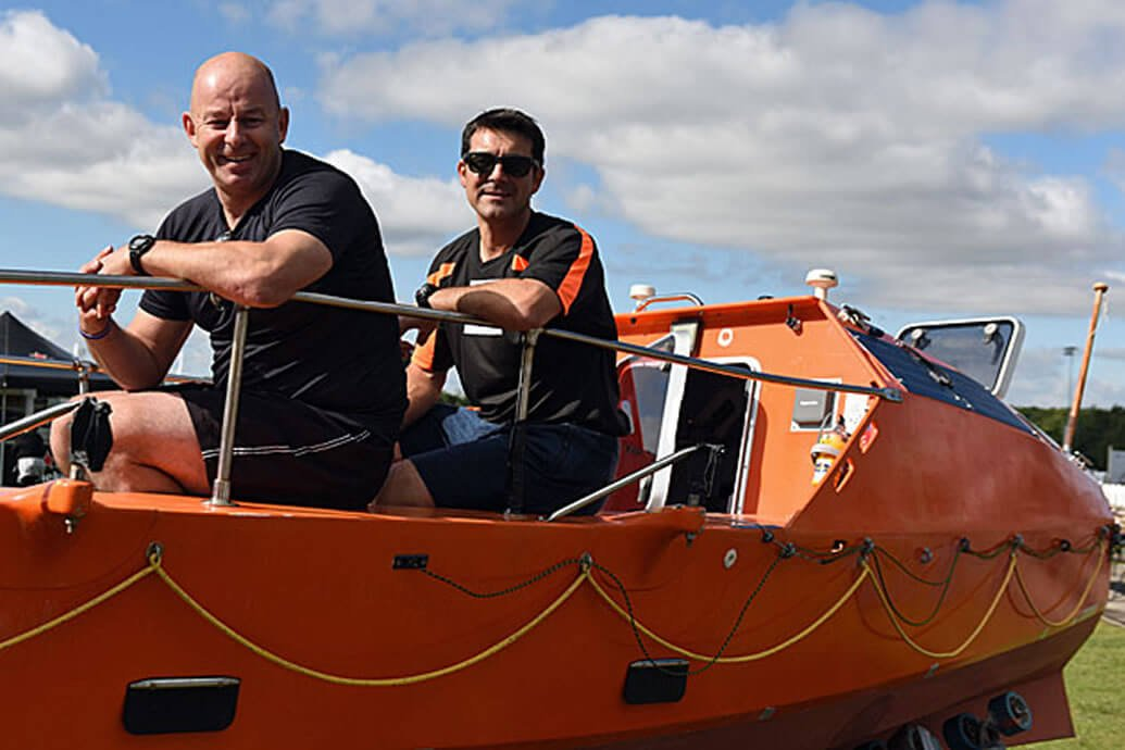 Firefighters Train To Row The Atlantic