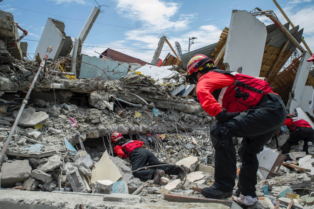 Leader Search and Rescue Equipment in Ecuador