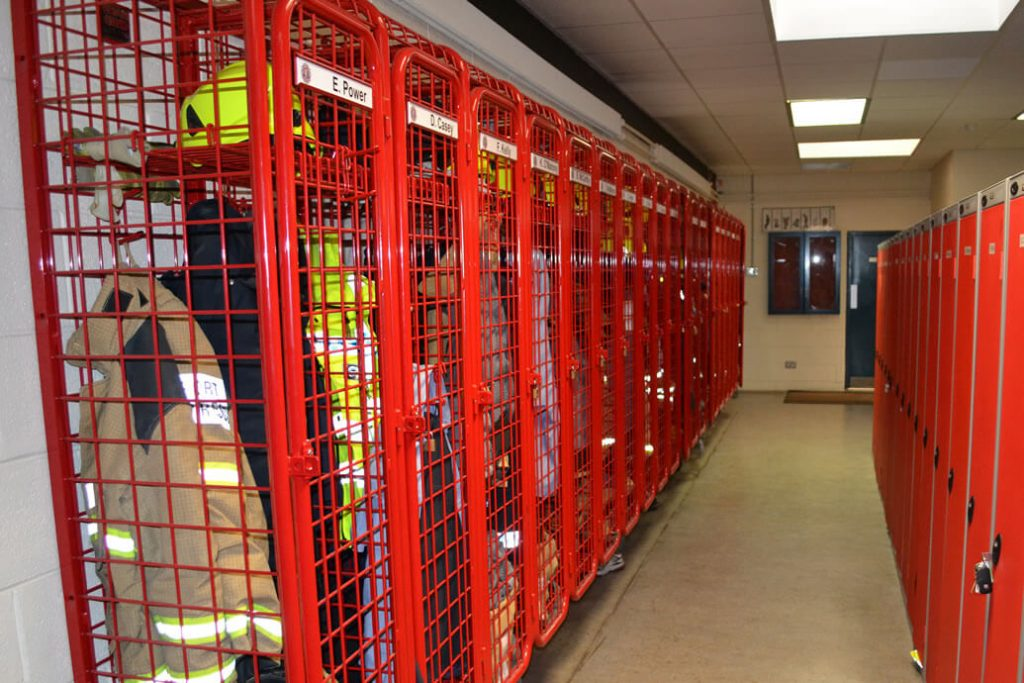 PPE Storage Solutions for Fire Services