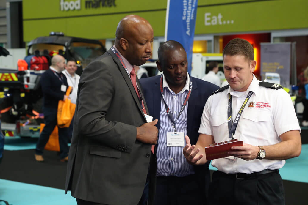 Buzzing Emergency Services Show Delivers Quality Buyers