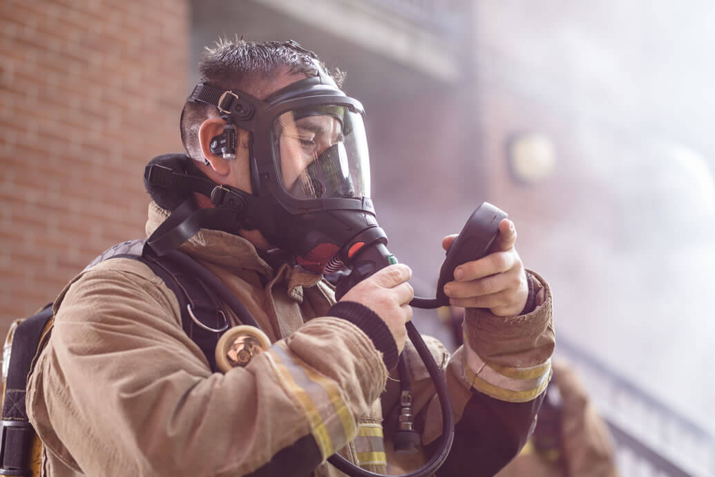 Using physiological monitoring to protect Firefighter health