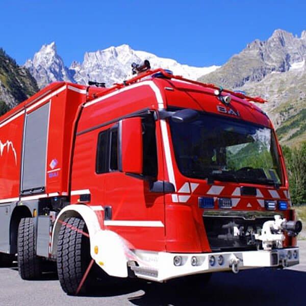 BAI Tunnel Rescue Vehicle