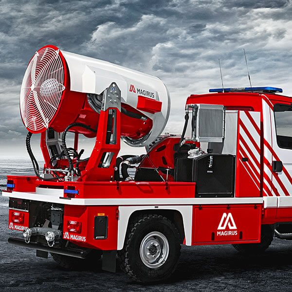 Magirus AirCore Firefighting Vehicle