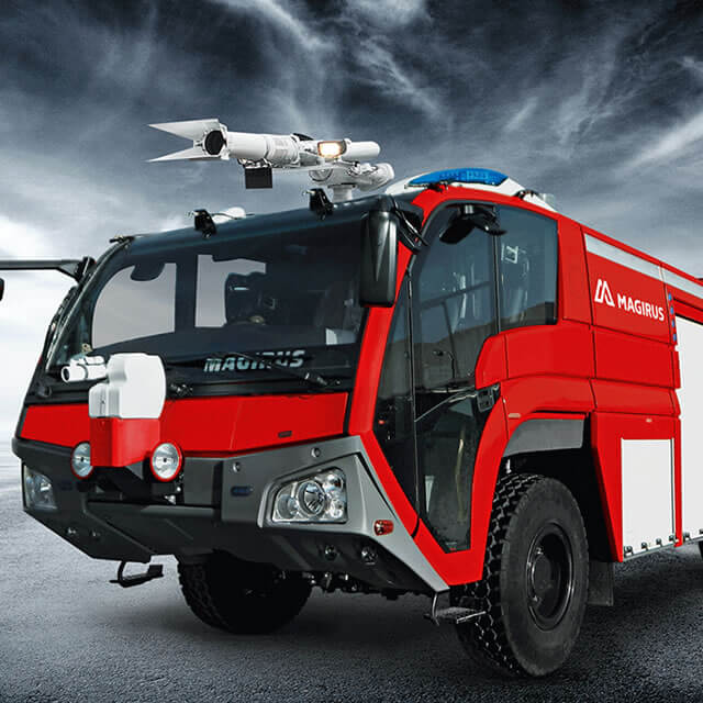 Magirus DRAGON X4 Airport Fire Engine