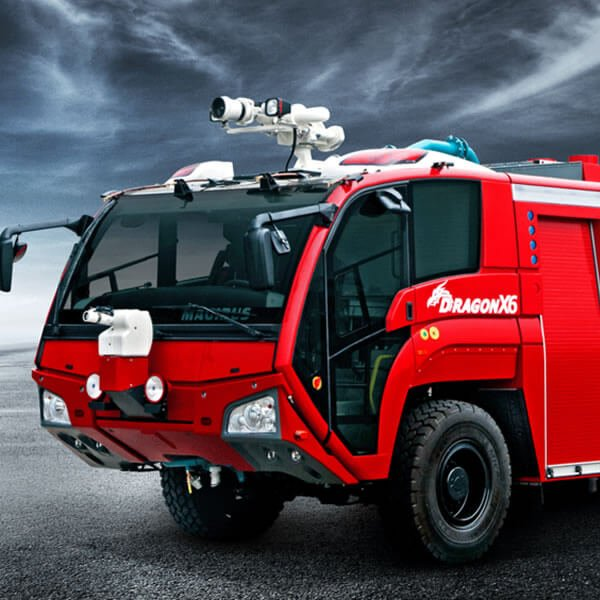 Magirus DRAGON X6 Airport Fire Engine