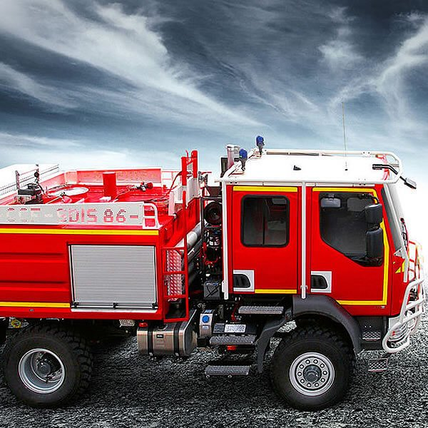 Magirus Forest Firefighting Vehicle