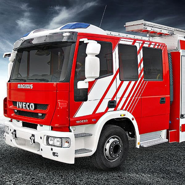 Magirus LF-HLF 20 Street Fire Engine