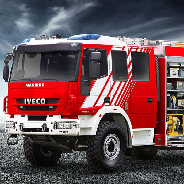 Magirus LF-KATS Firefighting Vehicle