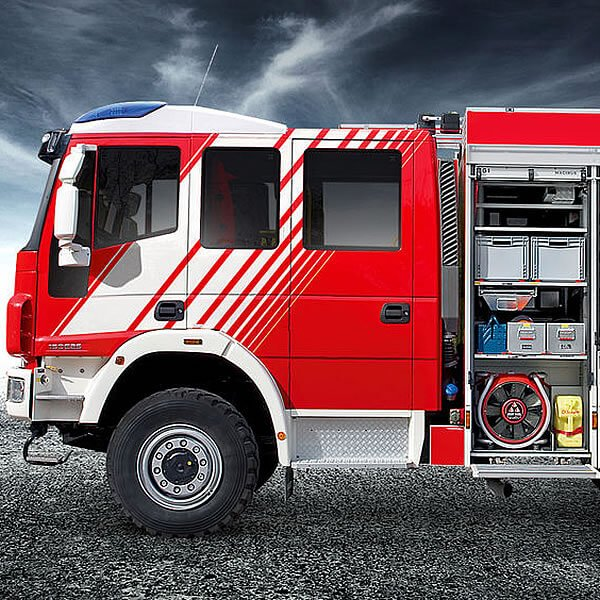 Magirus LFHLF 10 All Wheel Firefighting Truck