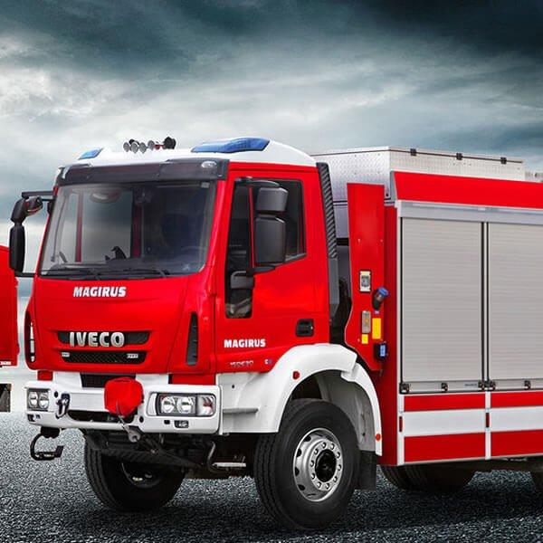 Magirus Logistics Rescue Vehicles