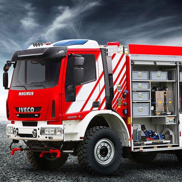 Magirus TLF 4000 Fire Truck