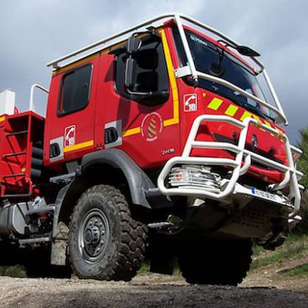 Sides CCF Forest Fire Tank Truck
