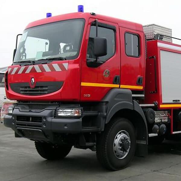 Sides CCI Fire Tank Truck