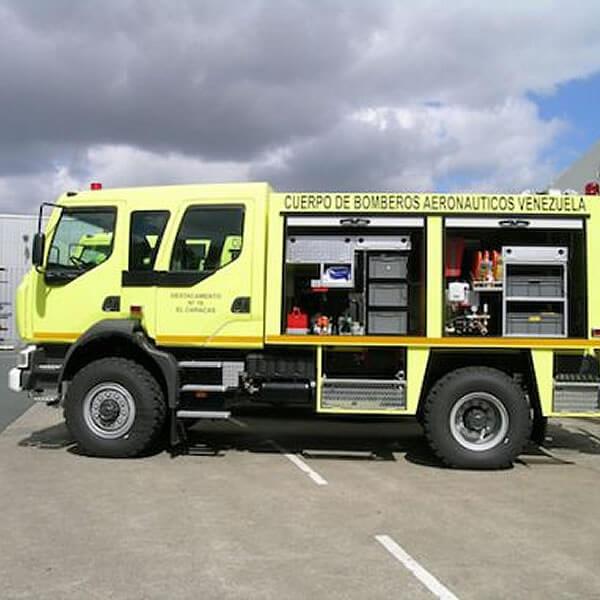 Sides Emergency Vehicle