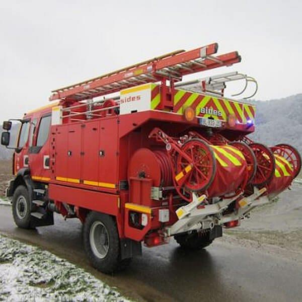 Sides Rural Tank Fire Truck