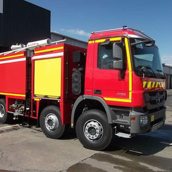 Sides SOVEREIGN Airport Fire Engine