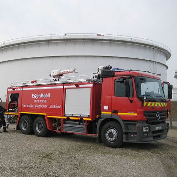 Sides Stentor Multitronic Firefighting Vehicle