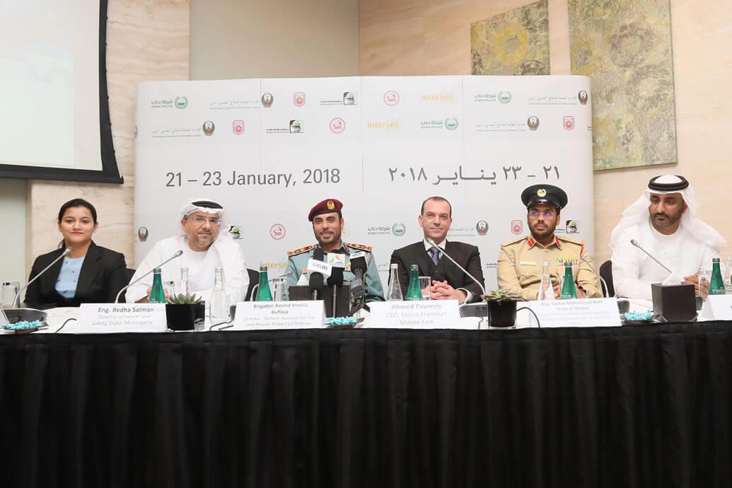 Intersec 2018 Prepares for Big Opening in Dubai